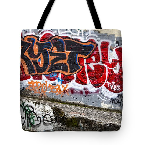Graffiti Tote Bag by Carol Leigh