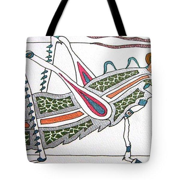 Grasshopper II Tote Bag by Kruti Shah