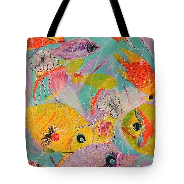 Great Barrier Reef Fish Tote Bag