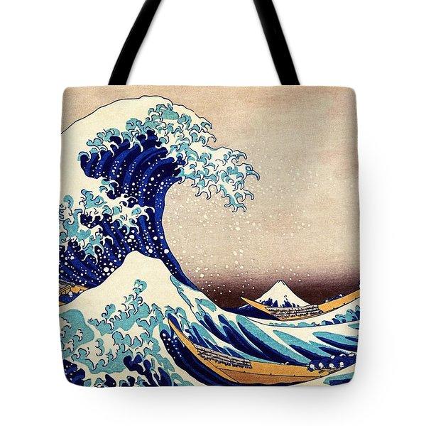 Great Wave Off Kanagawa Tote Bag