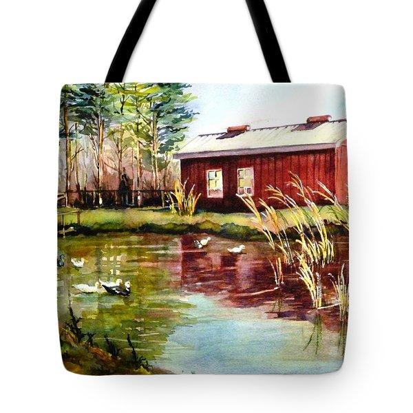 Green Acre Farm Tote Bag