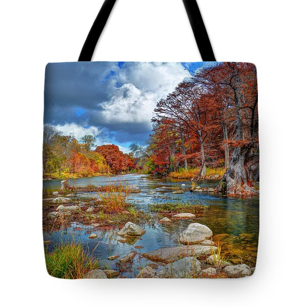 Guadalupe In The Fall Tote Bag by Savannah Gibbs