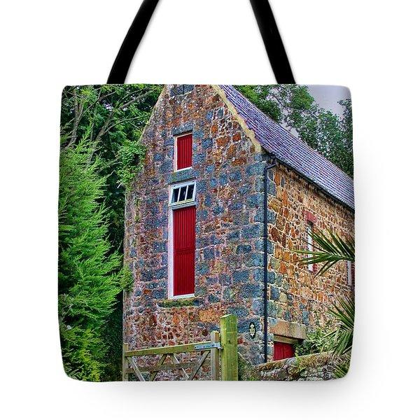 Guernsey Barn Tote Bag