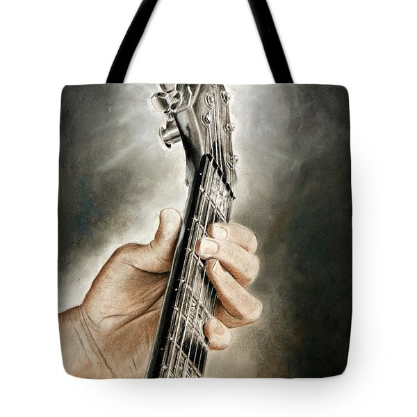 Guitarist's Point Of View Tote Bag