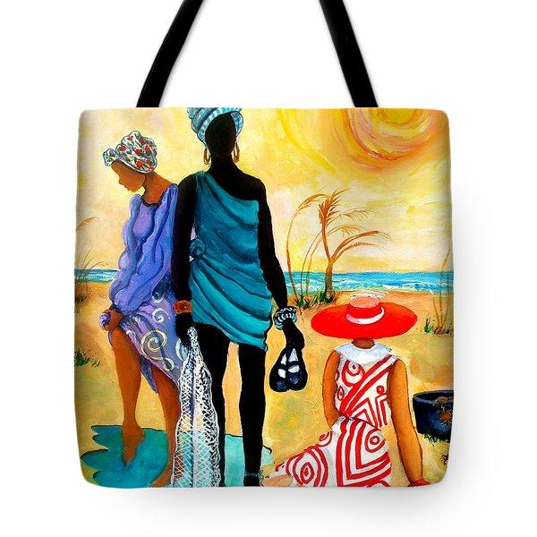 Gullah-creole Trio  Tote Bag