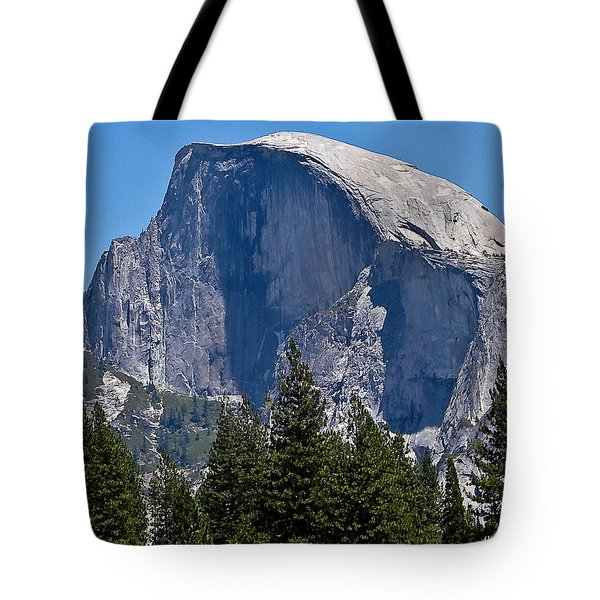 Tote Bag featuring the photograph Half Dome by Brian Williamson
