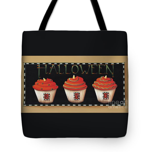 Halloween Cupcakes Tote Bag by Catherine Holman