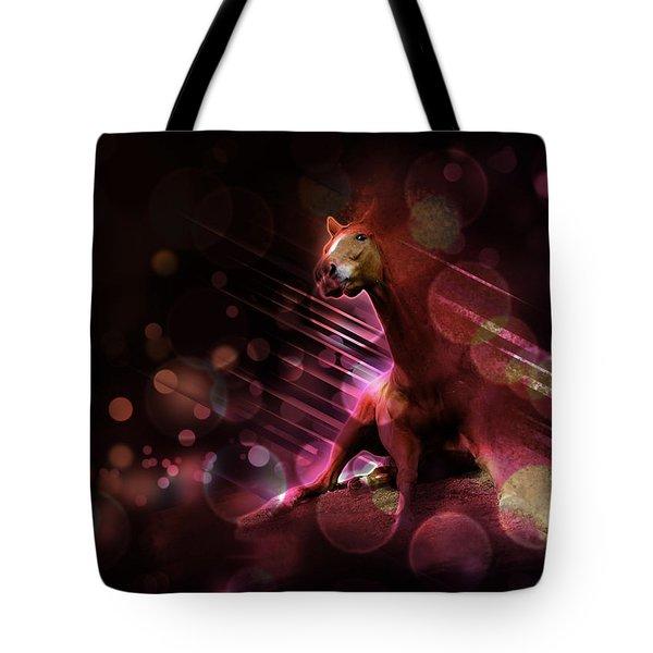 Hallucination Tote Bag by Kate Black