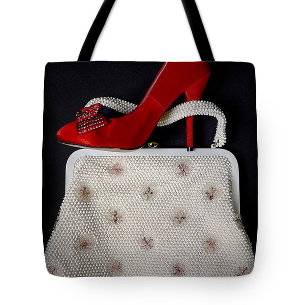 Handbag With Stiletto Tote Bag by Joana Kruse