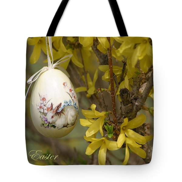 Happy Easter Tote Bag by Living Color Photography Lorraine Lynch