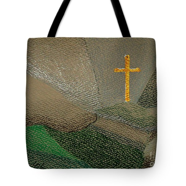 Depression And The Saviour Tote Bag