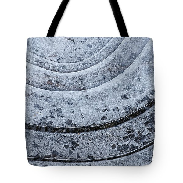 Hard Water Tote Bag by Bill Morgenstern