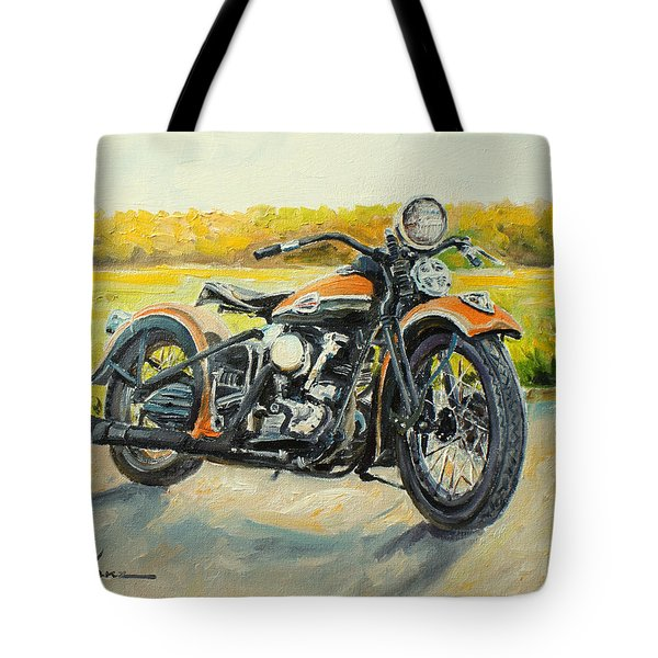 Harley Davidson 1946 Tote Bag
