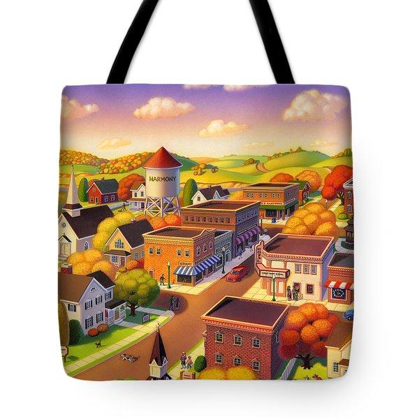 Harmony Town Tote Bag
