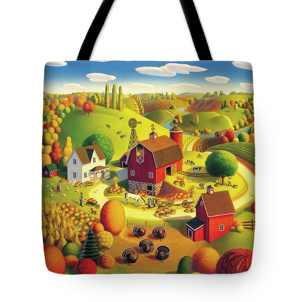 Harvest Bounty Tote Bag
