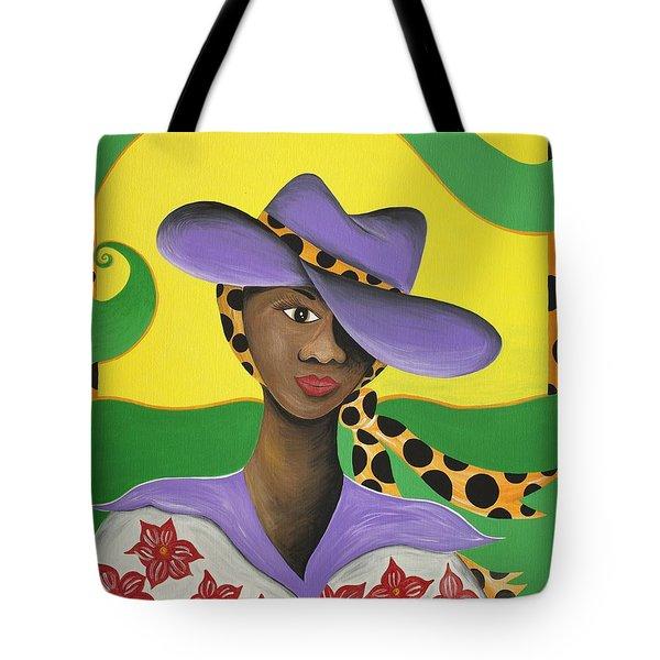 Hat Appeal Tote Bag by Patricia Sabree