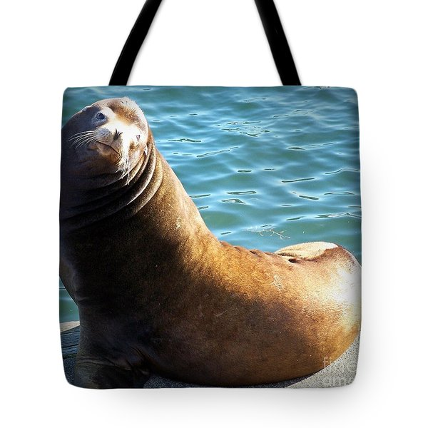 Hello Tote Bag by Chalet Roome-Rigdon