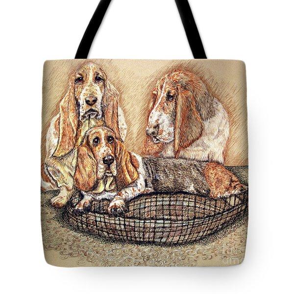 Hess'er Puppies Tote Bag