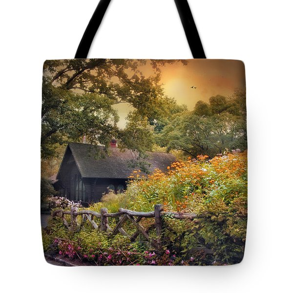 Tote Bag featuring the photograph Hidden Charm by Jessica Jenney