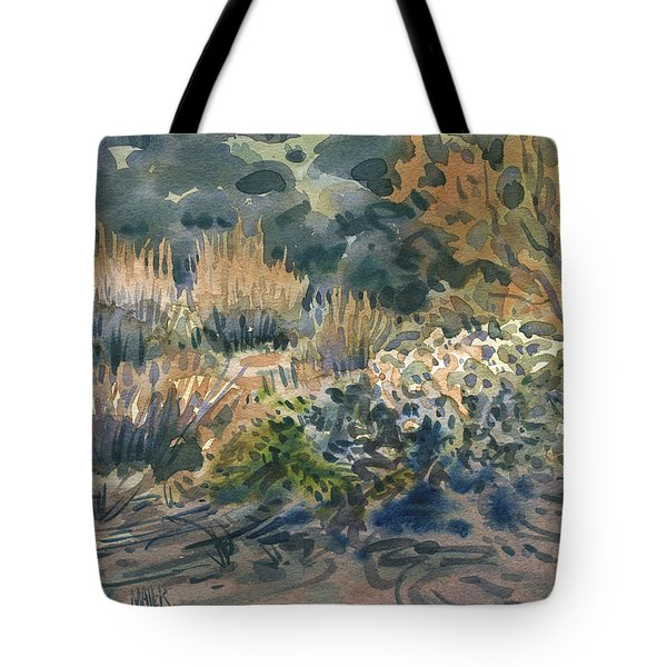 High Desert Flora Tote Bag by Donald Maier