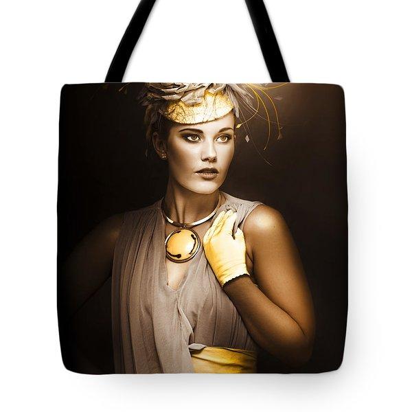 High Fashion Model Tote Bag