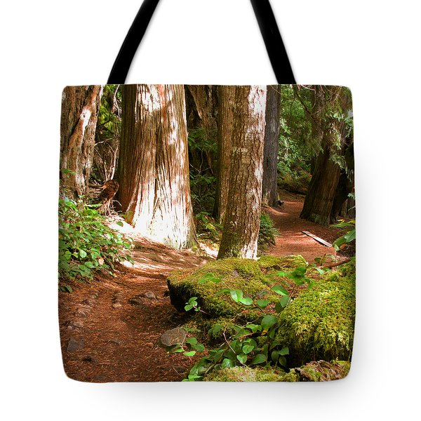 Hiking Trail Tote Bag