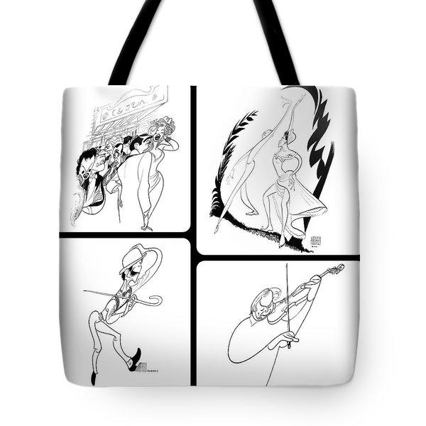 Hirschfeld's Drawings Tote Bag