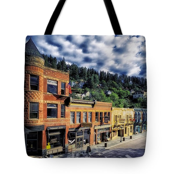 Historic Deadwood Tote Bag by Mountain Dreams
