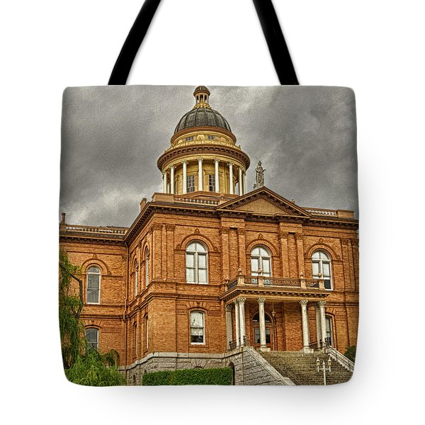 Historic Placer County Courthouse Tote Bag