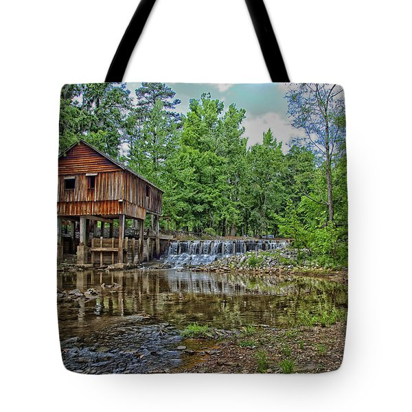 Historic Rikard's Mill In Virginia Tote Bag
