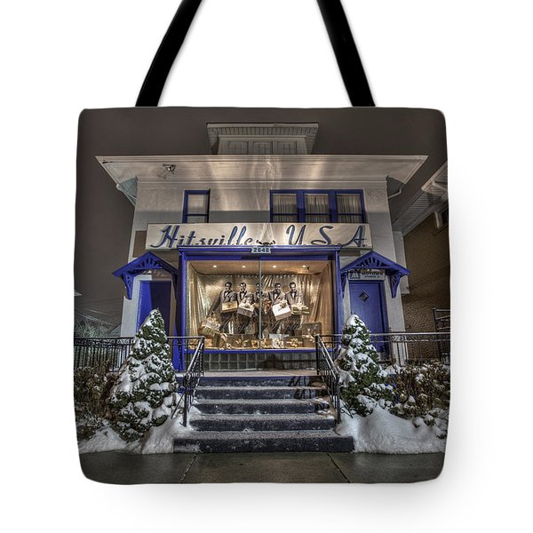 Hitsville Usa Tote Bag