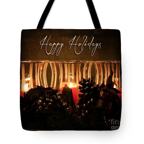 Holiday Glow Tote Bag