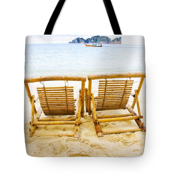 Holiday In Thai Paradise Tote Bag