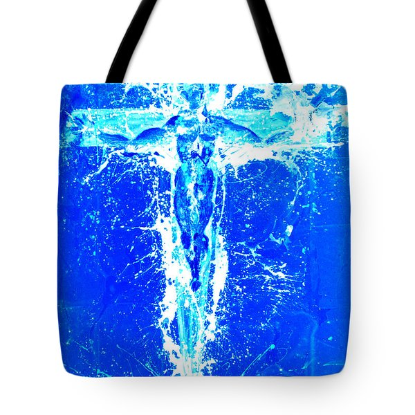 Holy Cross Unholy Sword Tote Bag