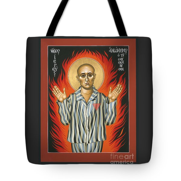 Holy Priest Anonymous One Of Sachsenhausen 013 Tote Bag