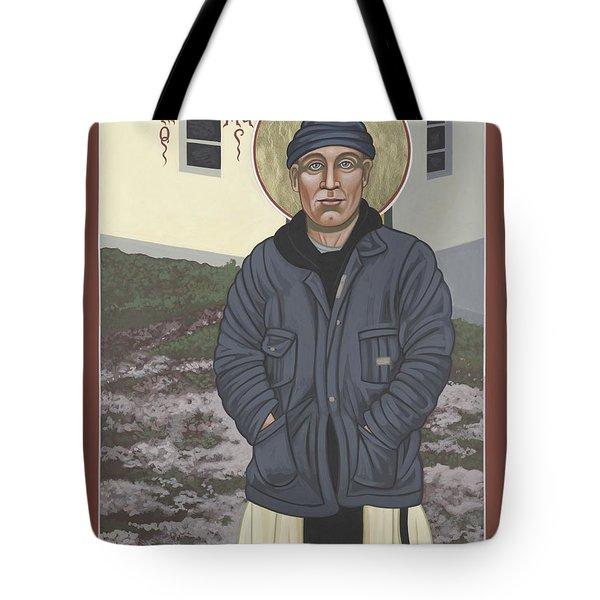 Holy World Evangelist Thomas Merton 267 Tote Bag