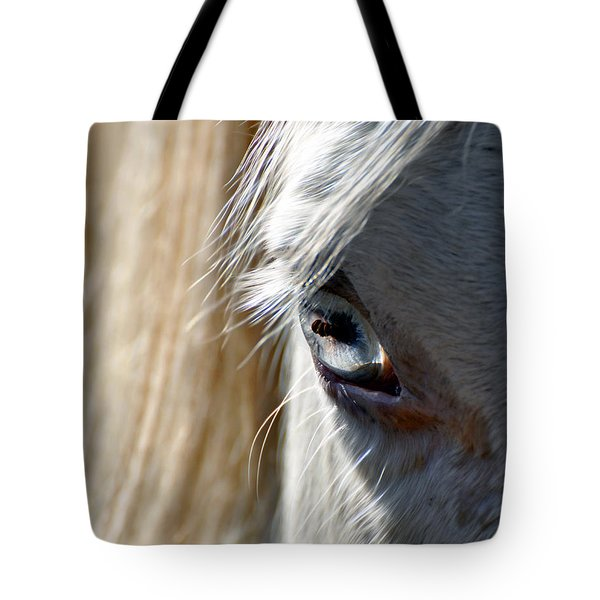 Horse Eye Tote Bag by Savannah Gibbs