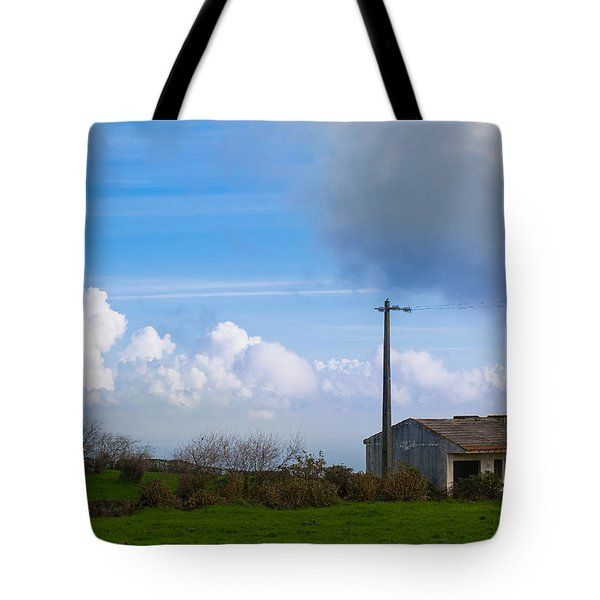 House At End Of The World Tote Bag