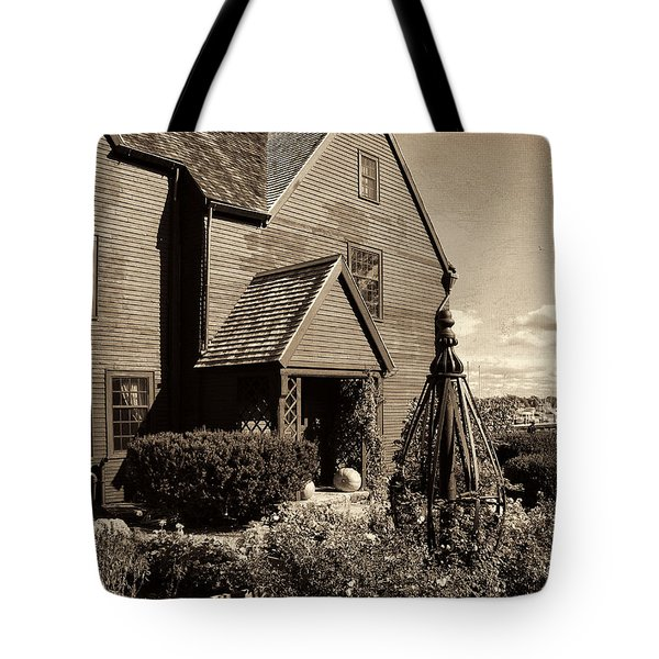 House Of The Seven Gables Tote Bag by Lourry Legarde