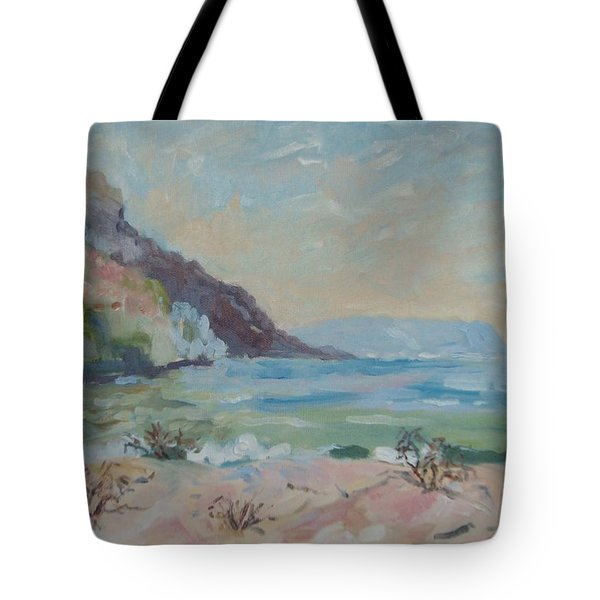 Hout Bay Beach Tote Bag by Elinor Fletcher