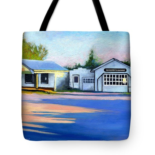 Huckstep's Garage Free Union Virginia Tote Bag