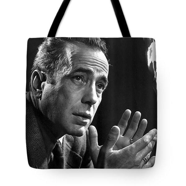 Humphrey Bogart Portrait 2 Karsh Photo Circa 1954-2014 Tote Bag