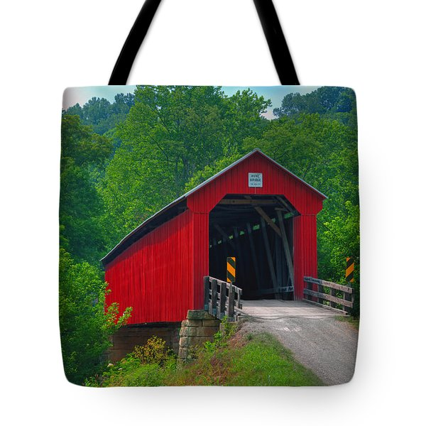 Hune Covered Bridge Tote Bag
