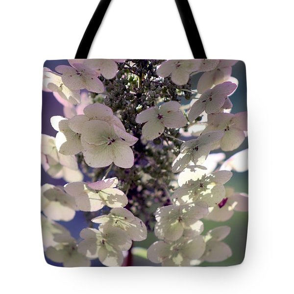 Tote Bag featuring the photograph Hydrangea  by Debra Forand
