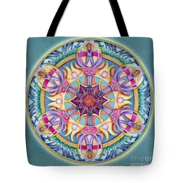 I Am Enough Mandala Tote Bag