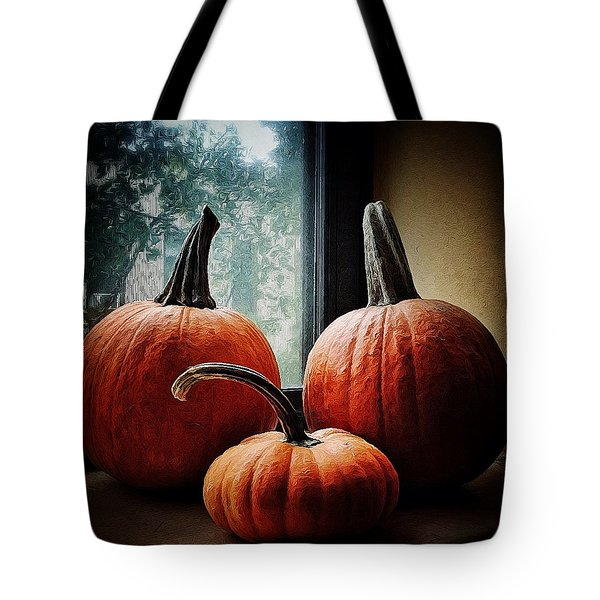 I Love Pumpkins Tote Bag