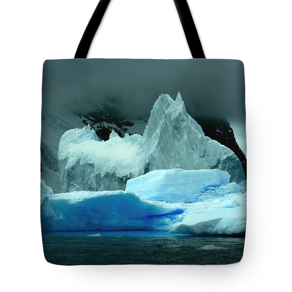 Tote Bag featuring the photograph Iceberg by Amanda Stadther