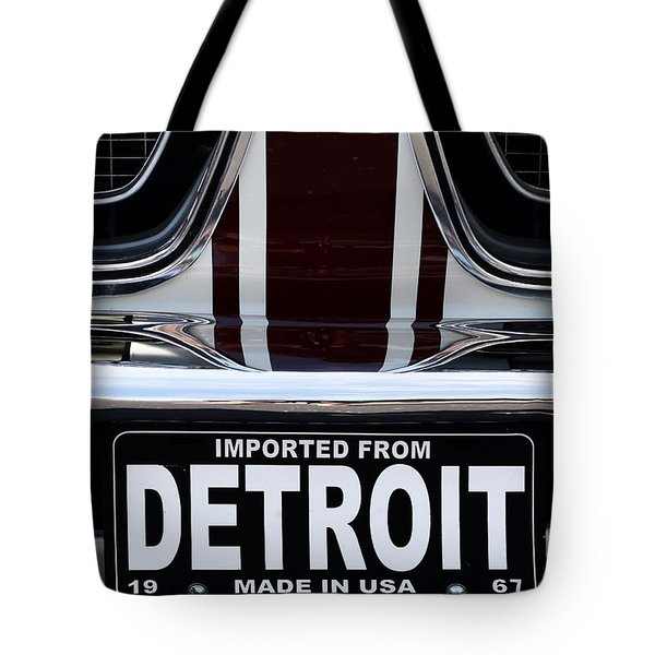 Imported From Detroit Tote Bag