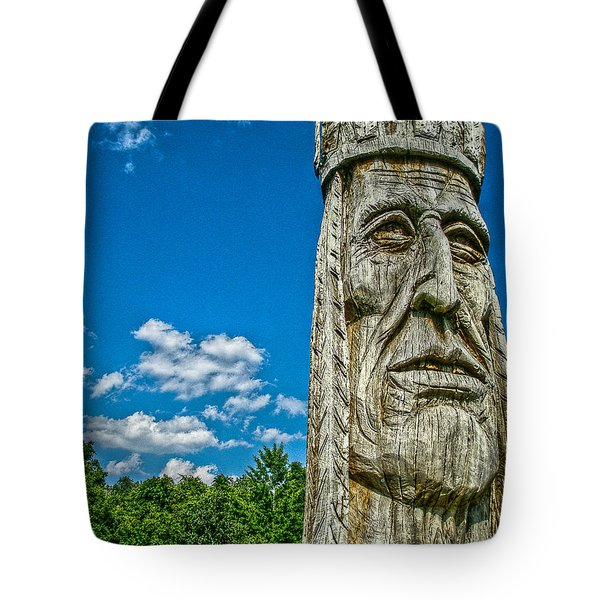 Indian Chief Charlestowne Landing Tote Bag