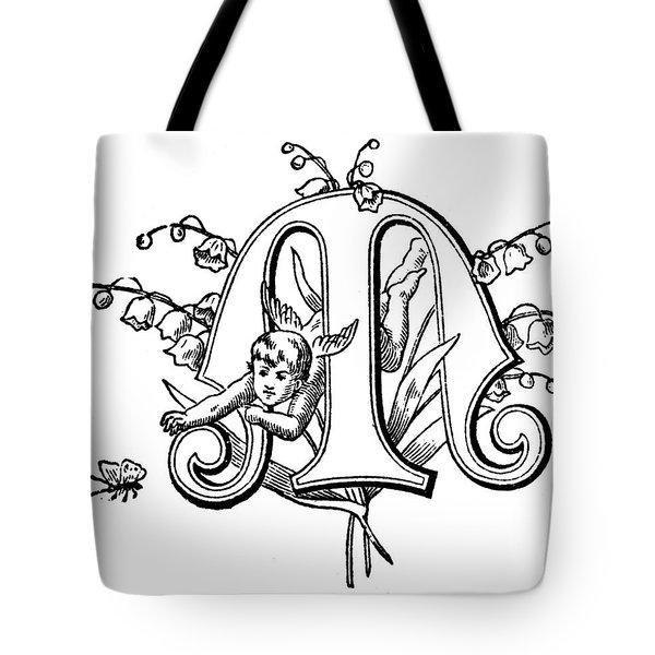 Initial 'm', C1889 Tote Bag